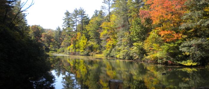 Indian Lake in Early Fall